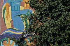 mosaic near Eliava market