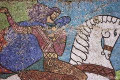 georgian mosaic on Gulia street