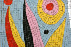 mosaic on road to Rustavi