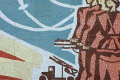 mosaic near Rustavi International Motopark